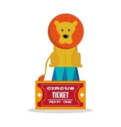 Lion of carnival design vector