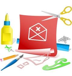 Mail cancel vector