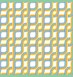 Retro style abstract seamless pattern vector