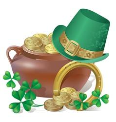 Saint Patricks Day Symbols vector image