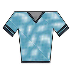shirt v neck icon image vector image