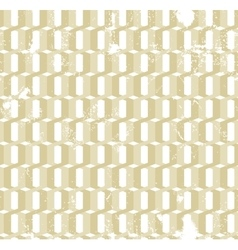 Twisted gold rings grunge seamless pattern vector