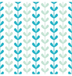Abstract vines leaves seamless pattern background vector image