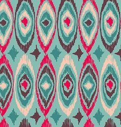 Boho vintage tribal shape pattern background vector