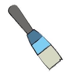 Brush paint art vector