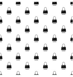 Handheld bag pattern seamless vector