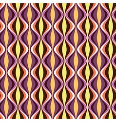 Pattern geometric waves color vector