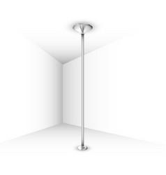 Pole dance pylon vector