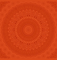 Psychedelic mandala fractal background - circular vector