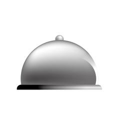 Restaurant dome Bell vector