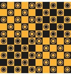 Seamless pattern Chessboard vector