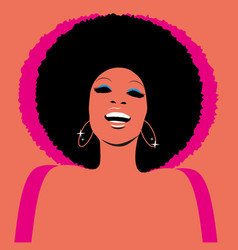 Soul party time funk jazz or disco music vector