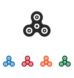 spinner icon vector image