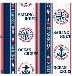 Sailing pattern vector
