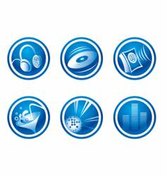 set of party web icons vector image vector image
