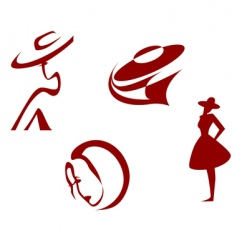 fashion signs vector image