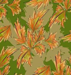 Seamless Texture Autumn vector image vector image