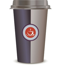 Coffee Cup Isolated on a white background vector image