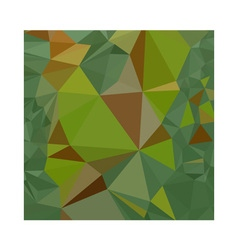 Dark Pastel Green Abstract Low Polygon Background vector