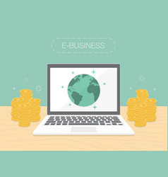 e-business vector image