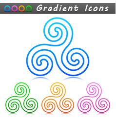 Ornament symbol icon design vector