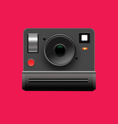 polaroid camera vector image