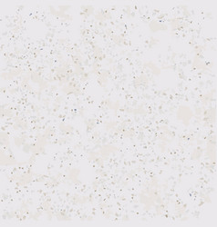 Tile terrazzo pattern with colorful stone on grey vector