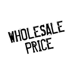 Wholesale price rubber stamp vector