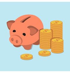 money 2 vector image vector image