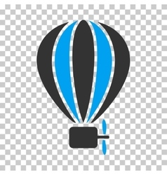 Aerostat Balloon Eps Icon vector