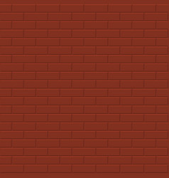 Brick wall background - seamless texture vector