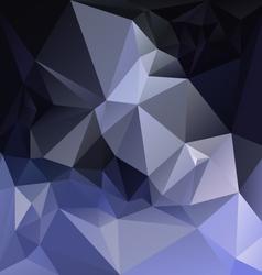 Dark and light blue polygon triangular pattern vector
