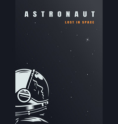 Galaxy and universe poster vector