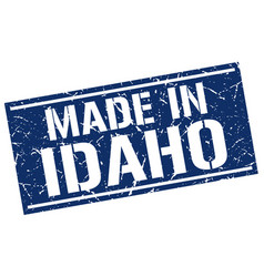 Made in idaho stamp vector