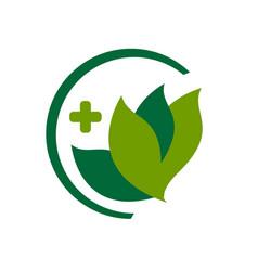 Medicine pharmacy logo vector