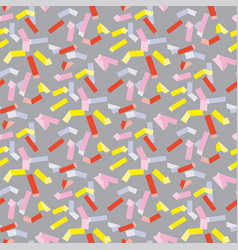pop art repeatable fabric sample vector image