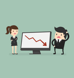 results chart vector image