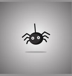 Spider halloween isolated vector