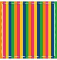 Striped color frames vector