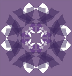 abstract purple design vector image