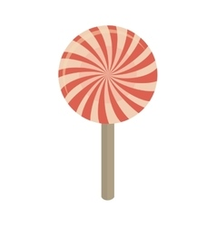 candy sweet icon isolated vector image vector image