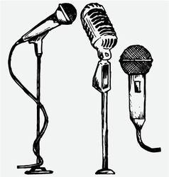 Set microphone vector
