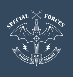 Special forces right on target vector