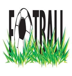 Fudbalska lopta simple2 vector image