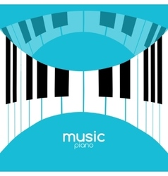 Music festival poster background Musical jazz vector image vector image