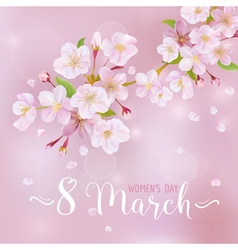 8 march - womens day greeting card template vector