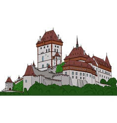 Castle karlstein vector