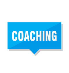 Coaching price tag vector