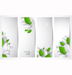 Four headers vector