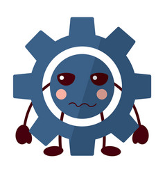gear icon image vector image